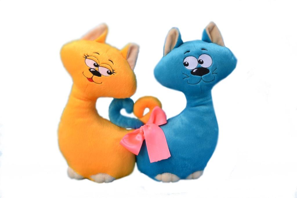 Мягкая игрушка Влюбленные коты