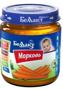 Пюре морковь