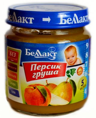 Персик — груша