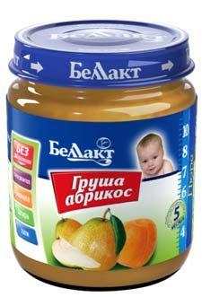 Пюре груша-абрикос