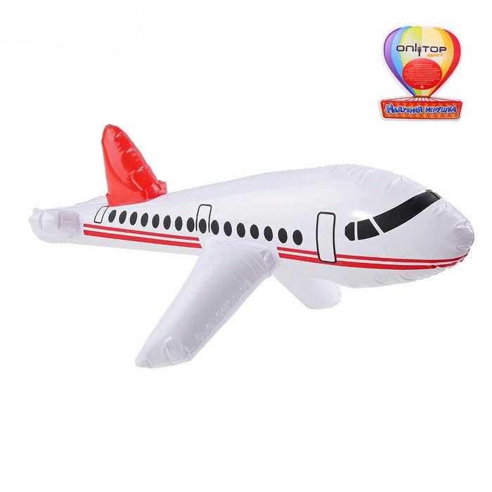 Игрушка надувная Самолет 65 см
