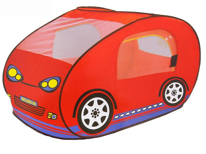Игровая палатка «Моя машина», цвет красный