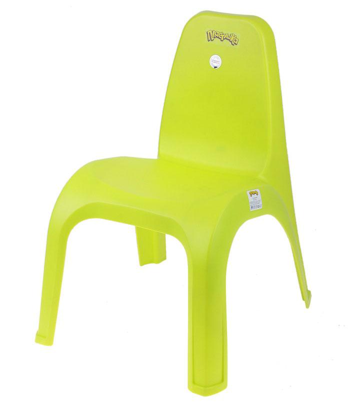 Детский стульчик, цвет салатовый и сиреневый