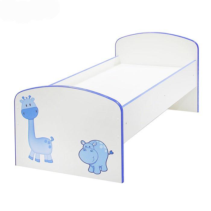 Детская кровать «Жираф и Бегемот»