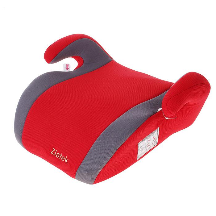 Бустер автомобильный Clipper, группа 3 (22-36 кг), цвет красный