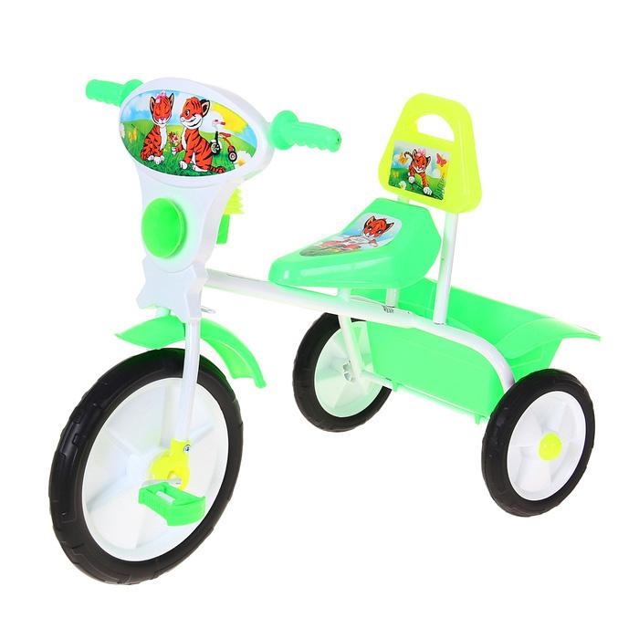 Велосипед трехколесный «Малыш», цвет: зеленый 06П
