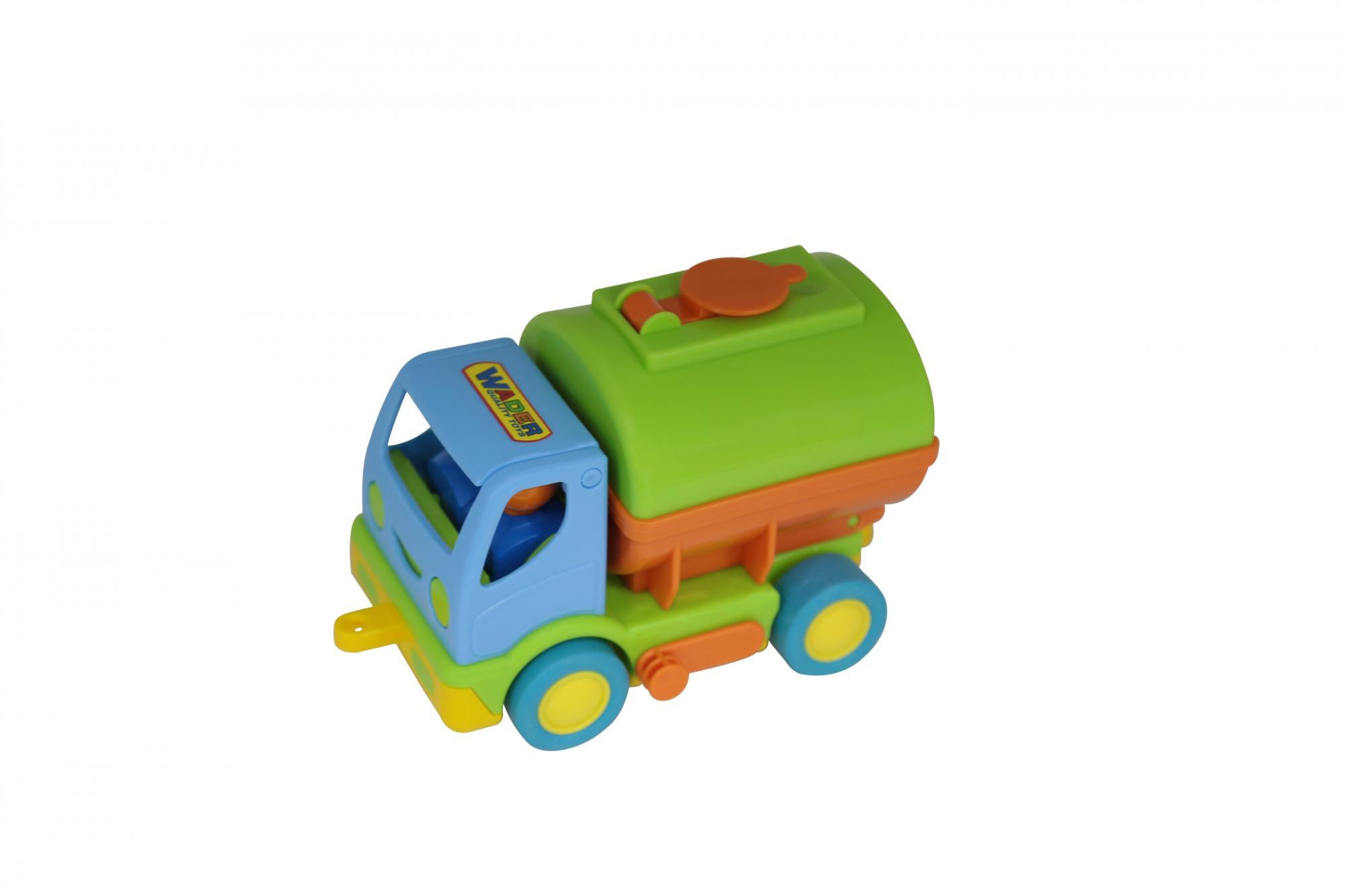 Автомобиль с цистерной «Мой первый грузовик»  (+2 фигурки в кабине)