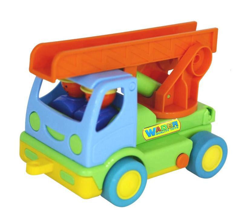 Автомобиль пожарный «Мой первый грузовик» (+2 фигурки в кабине)