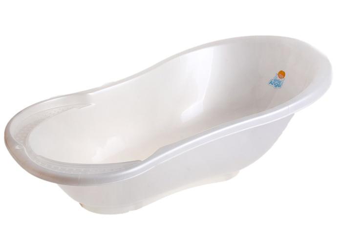Ванночка детская «Ангел», цвет белый перламутр