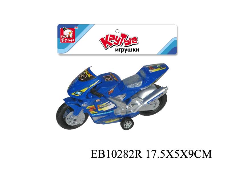 Мотоцикл, инерц, 18 см