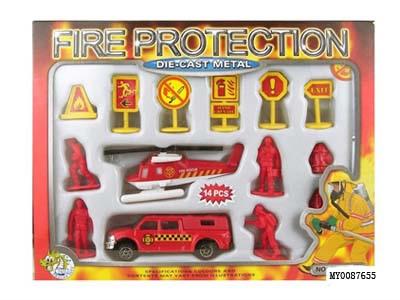 Набор «Пожарная техника»JH1121A