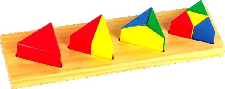 Дроби малые №3 «Треугольник»