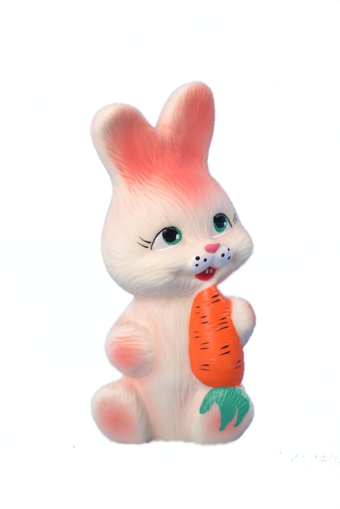 игрушка из ПВХ Кролик с морковкой