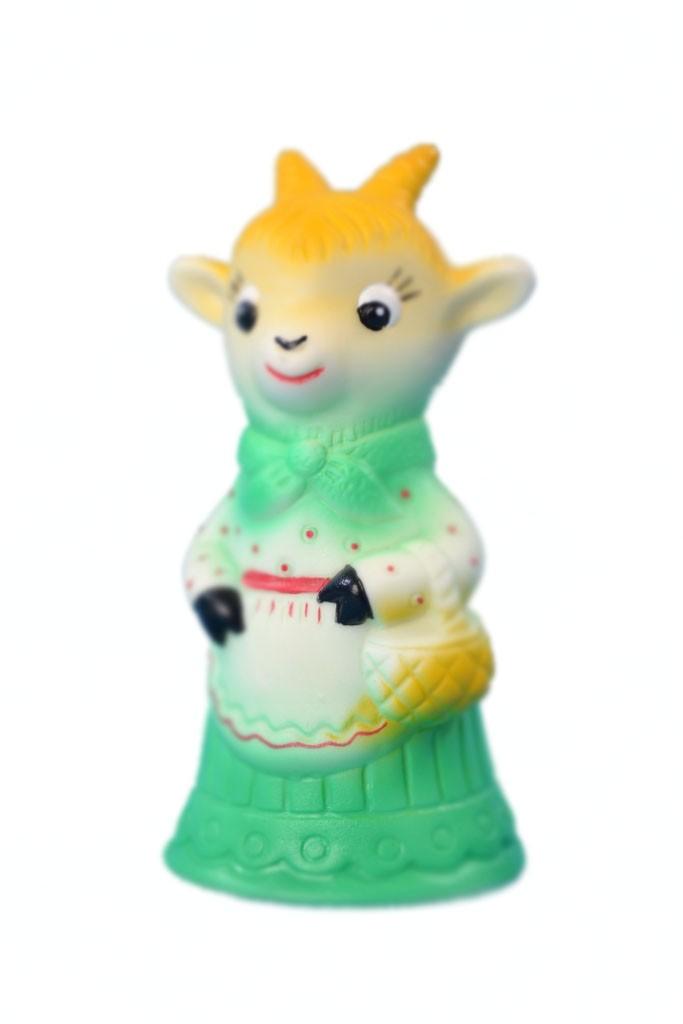 игрушка из ПВХ Козочка