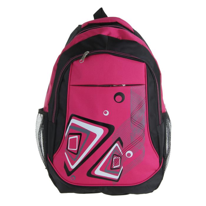 Рюкзак «Фэнтези», 1 отдел, 2 наружных и 2 боковых кармана, усиленная спинка