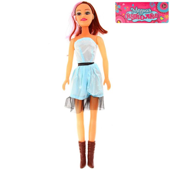 Кукла с цветными волосами, рост 52 см