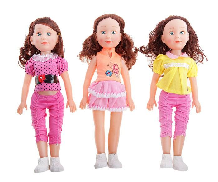 Кукла 53 см, звуковые эффекты, работает от батареек