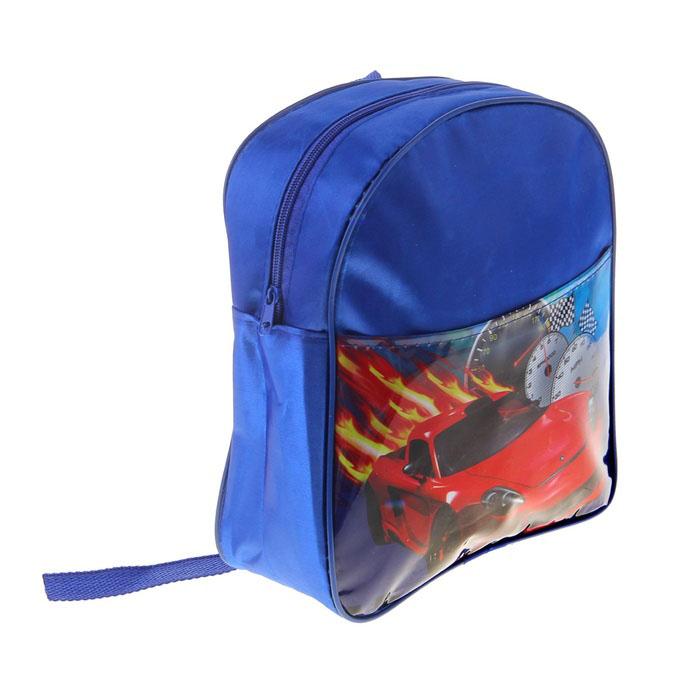 Рюкзак детский «Тачки», 1 отдел, наружный карман