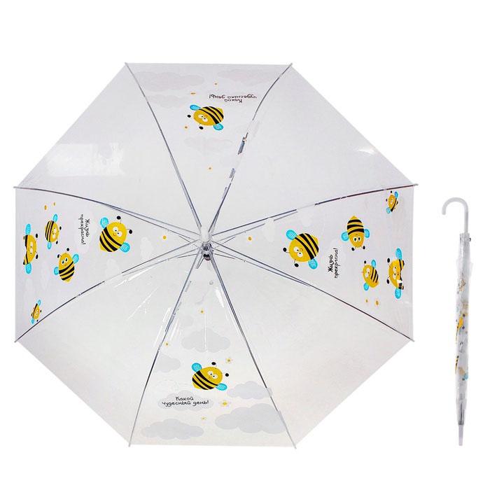 зонт-полуавтомат «Пчелки»