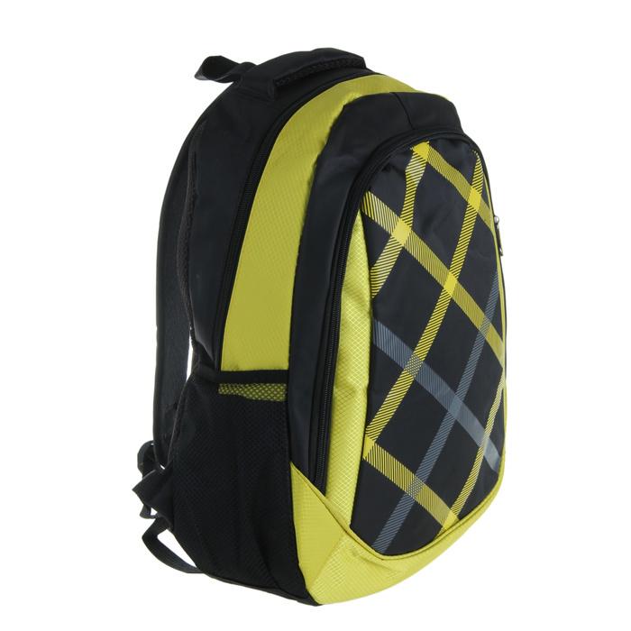 Рюкзак «Клетка», 1 отдел, 1 наружный и 2 боковых кармана, усиленная спинка