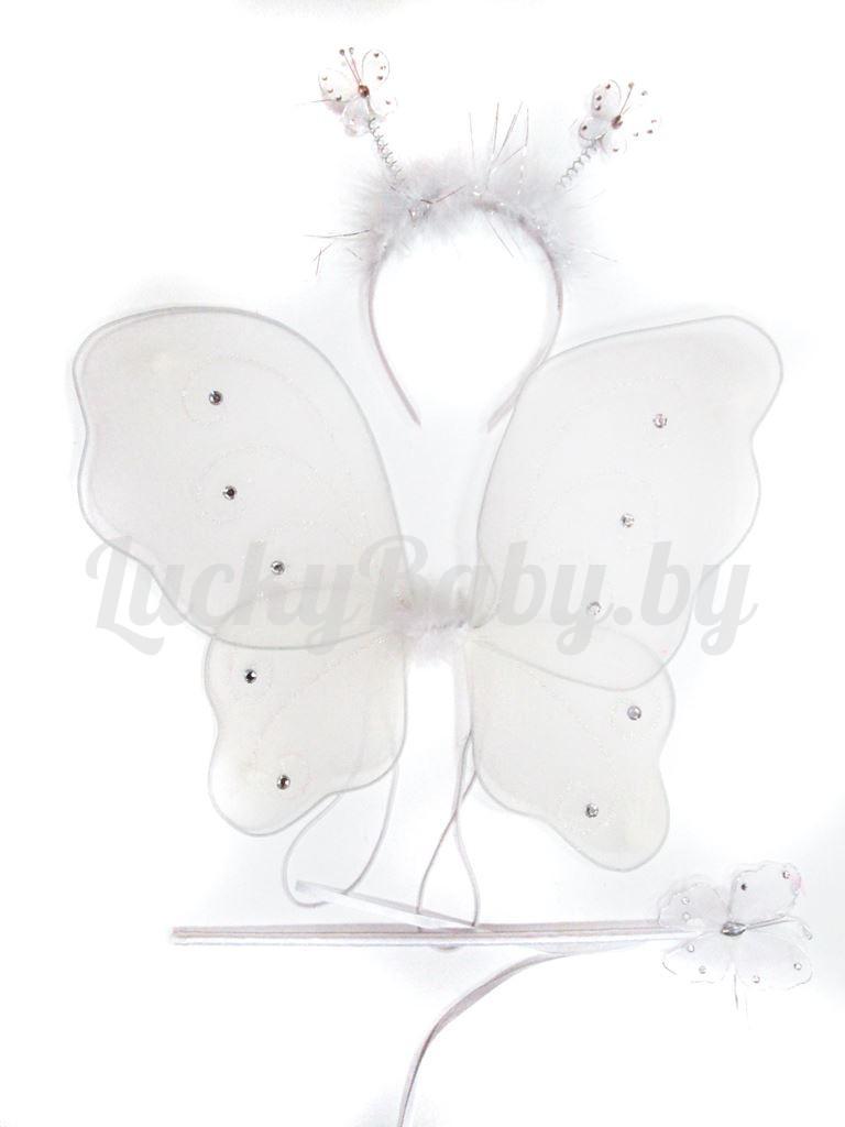 Набор крылья феи, ободок, волшебная палочка