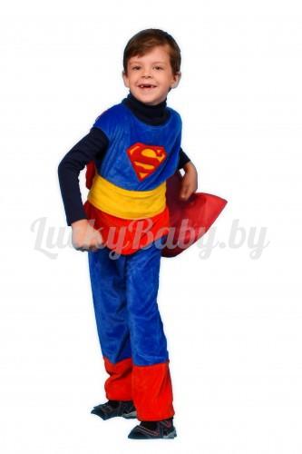 Детский карнавальный костюм «Супермен»