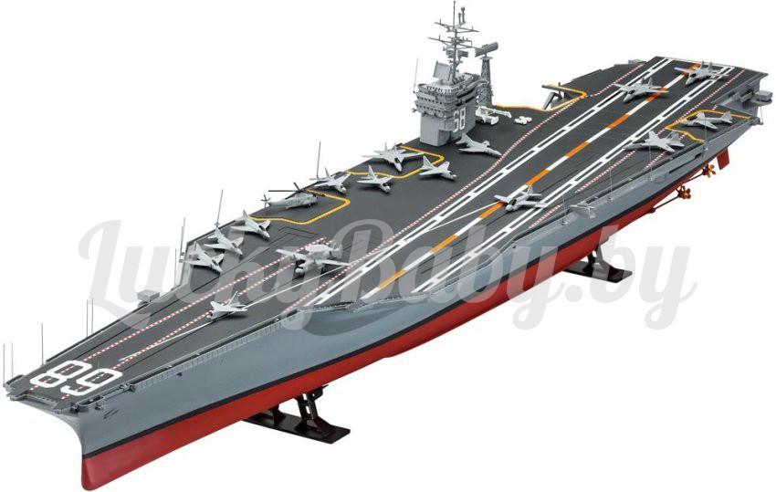 3D пазл «Сборная модель «Авианосец Нимиц»  96 деталей