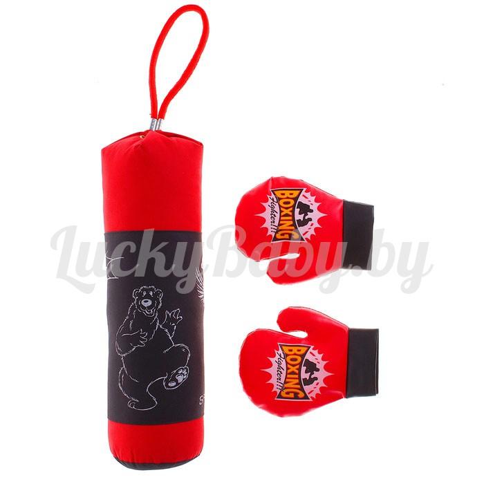 Набор для бокса: мешок, 2 перчатки