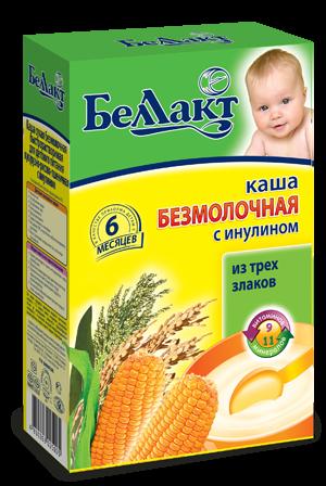 Каша кукурузно — рисово — пшеничная с инулином