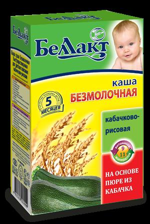 Каша кабачково — рисовая